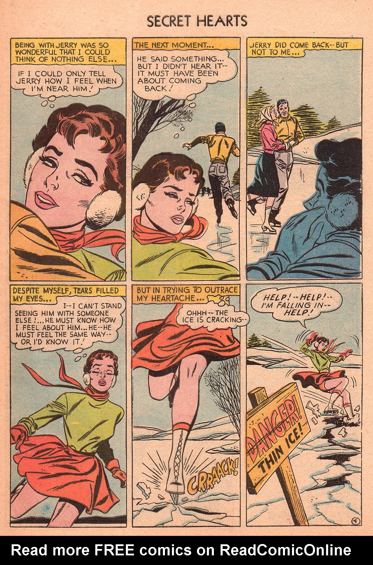 Read online Secret Hearts comic -  Issue #27 - 29