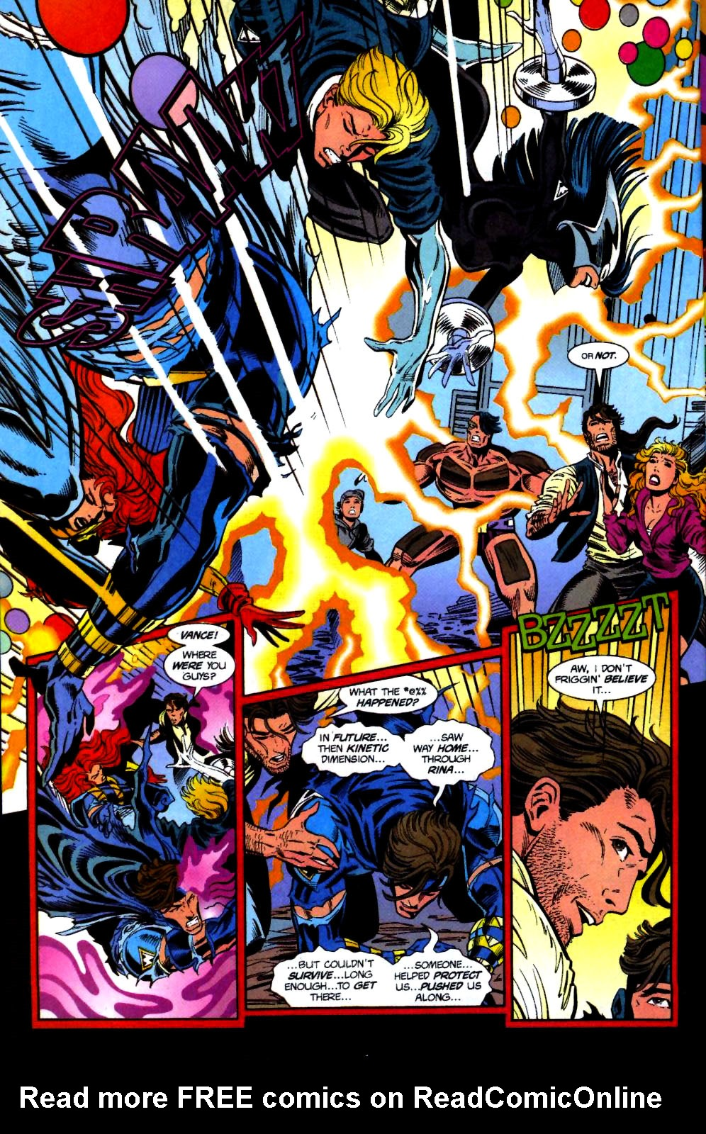 The New Warriors Issue #71 #75 - English 22