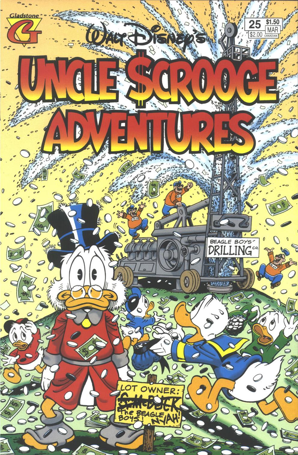 Walt Disney's Uncle Scrooge Adventures issue 25 - Page 1