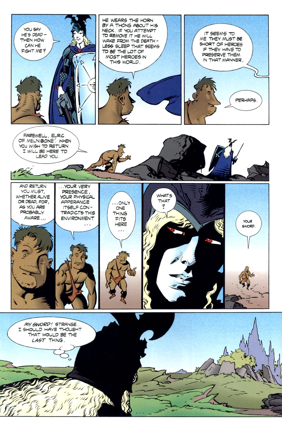 Read online Elric: Stormbringer comic -  Issue #6 - 16