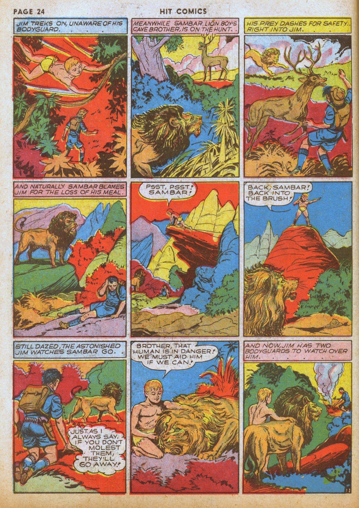 Read online Hit Comics comic -  Issue #12 - 26