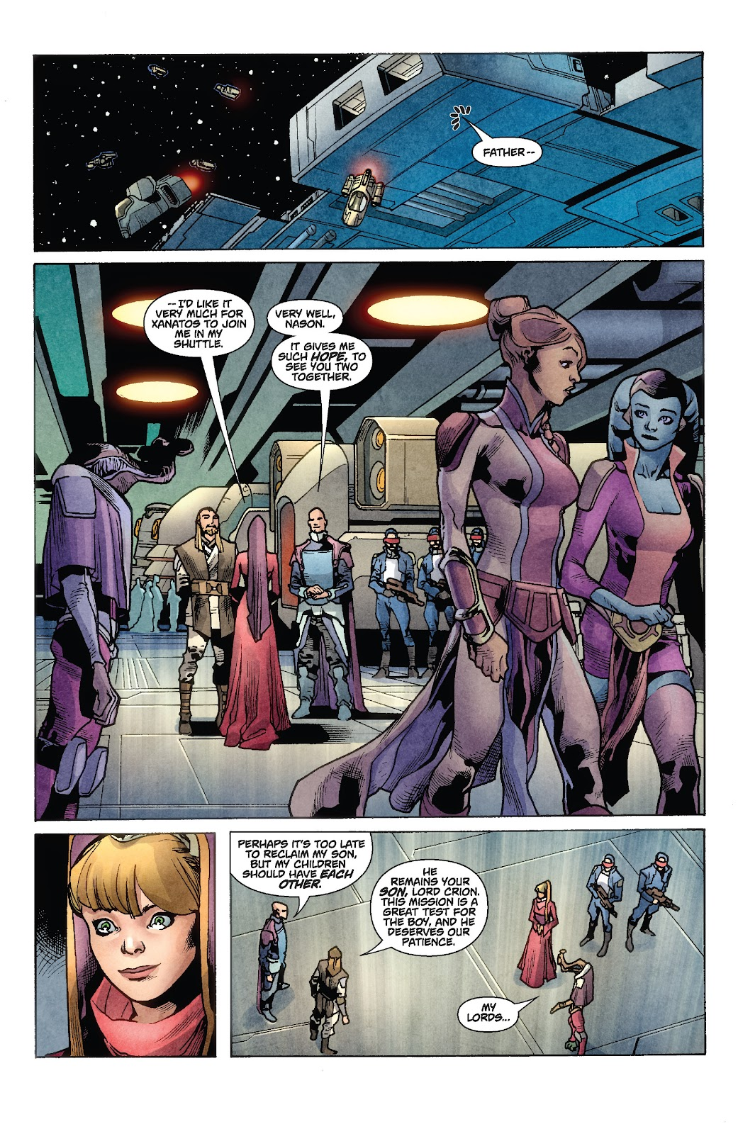 Read online Star Wars Legends: Rise of the Sith - Epic Collection comic -  Issue # TPB 1 (Part 2) - 31