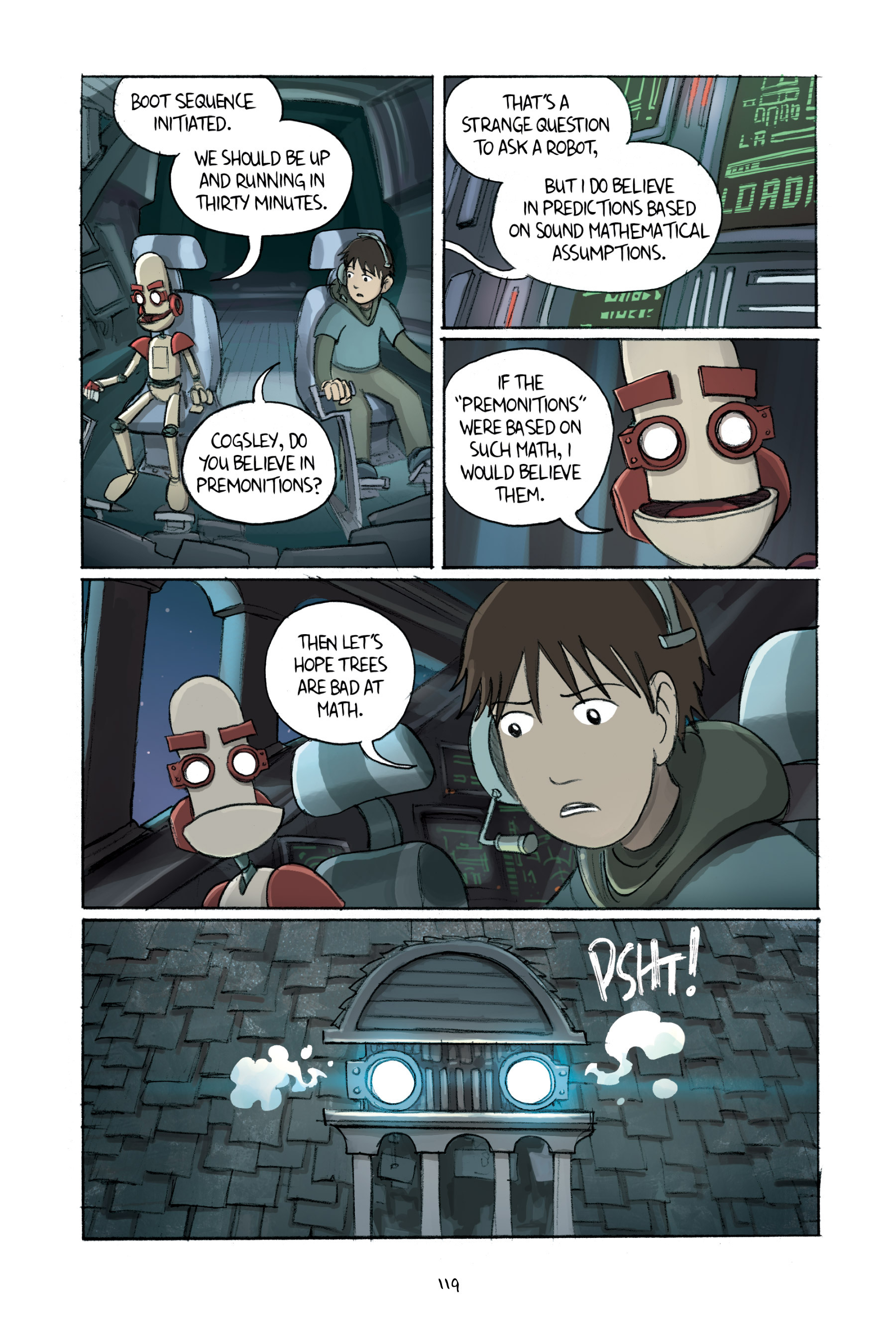 Read online Amulet comic -  Issue #2 - 119