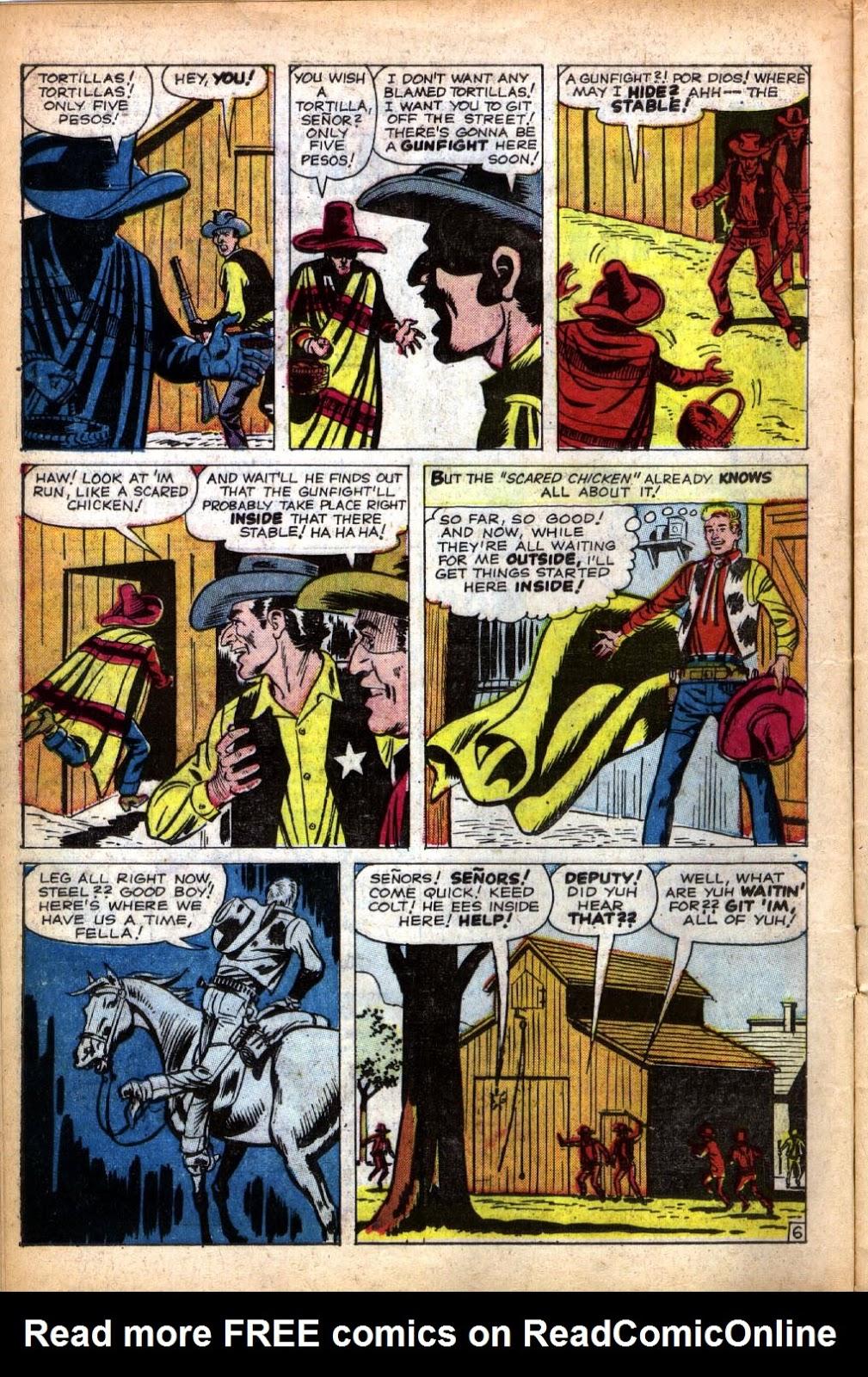 Gunsmoke Western issue 66 - Page 10