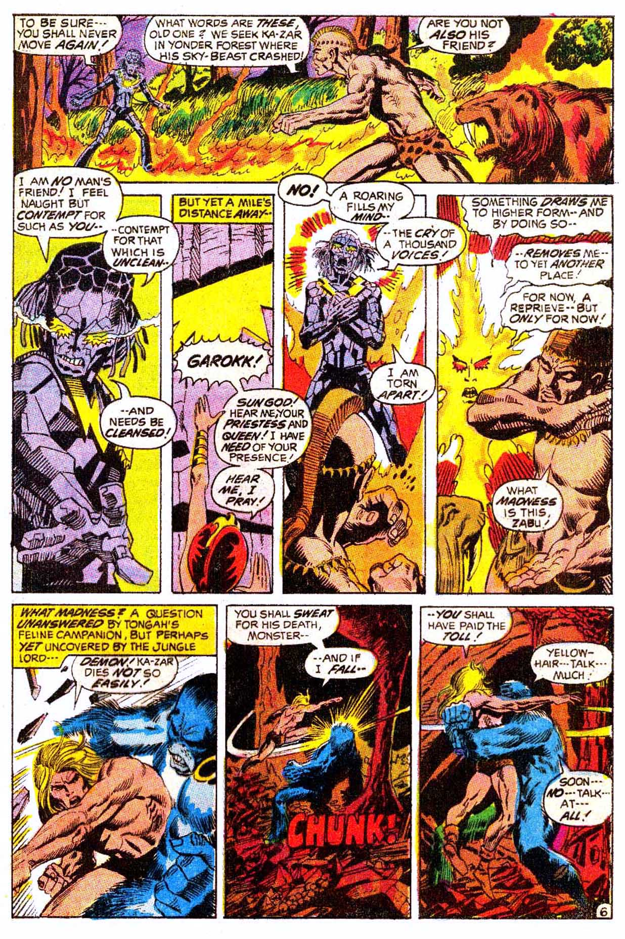 Read online Astonishing Tales (1970) comic -  Issue #5 - 17