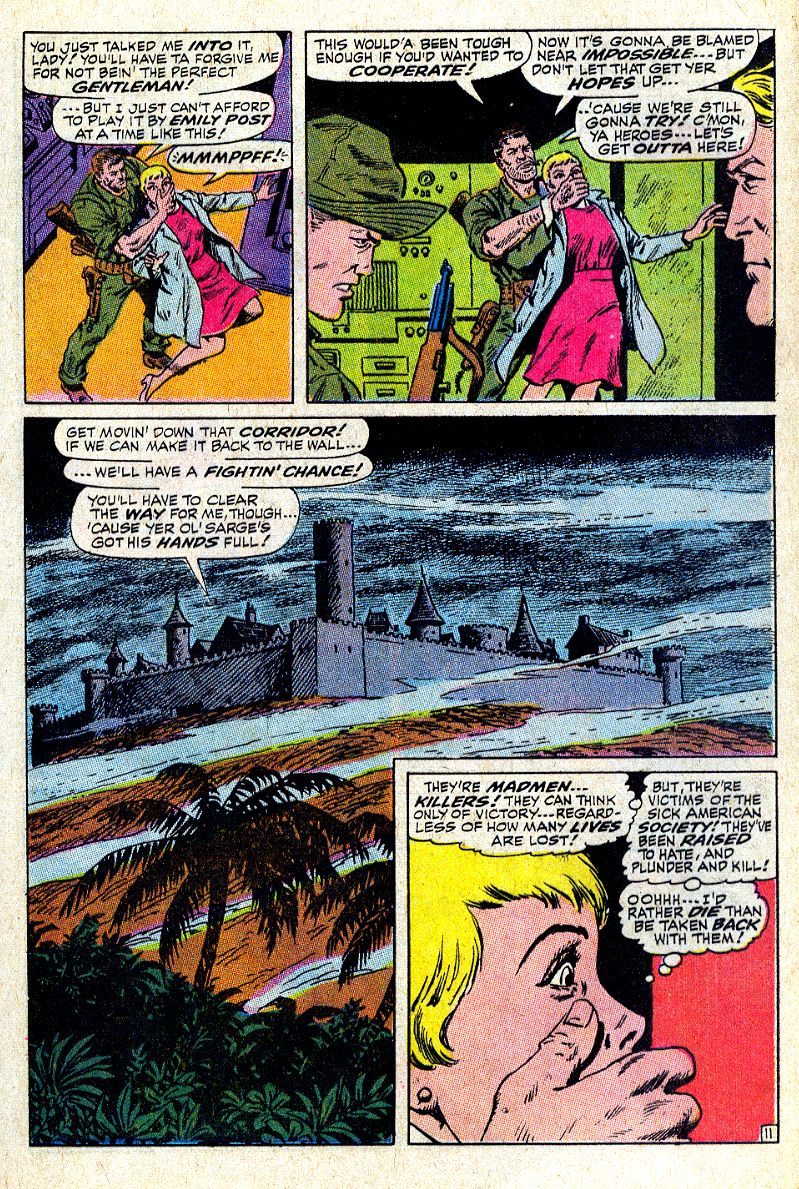Read online Sgt. Fury comic -  Issue #64 - 17