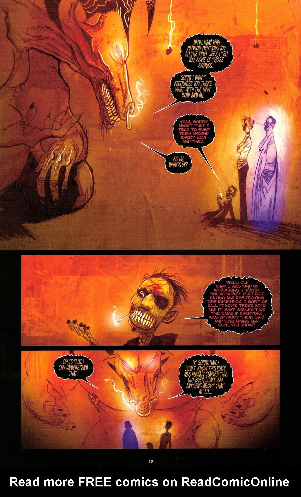 Read online Wormwood: Gentleman Corpse comic -  Issue #4 - 21