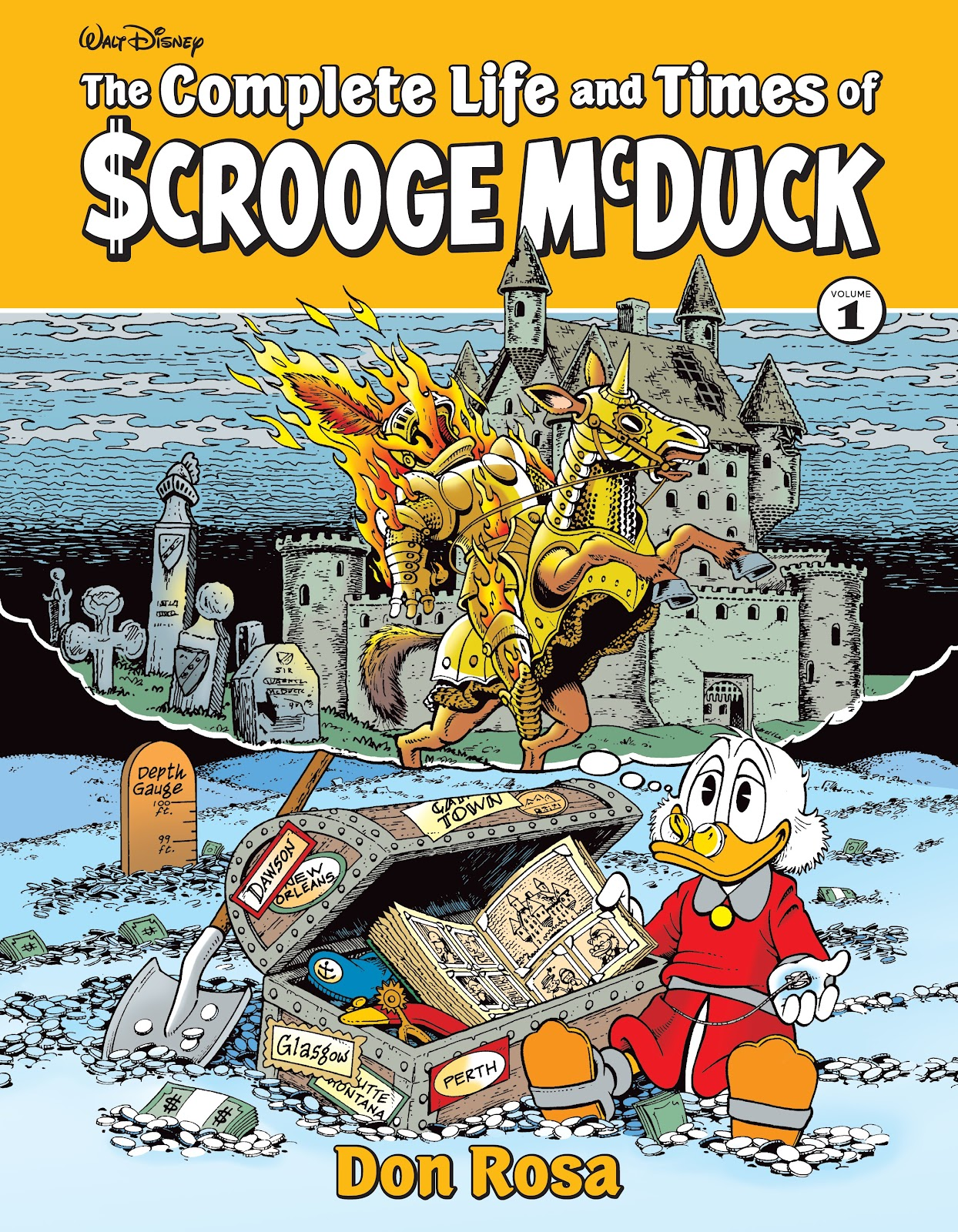 Read online The Complete Life and Times of Scrooge McDuck comic -  Issue # TPB 1 (Part 1) - 1
