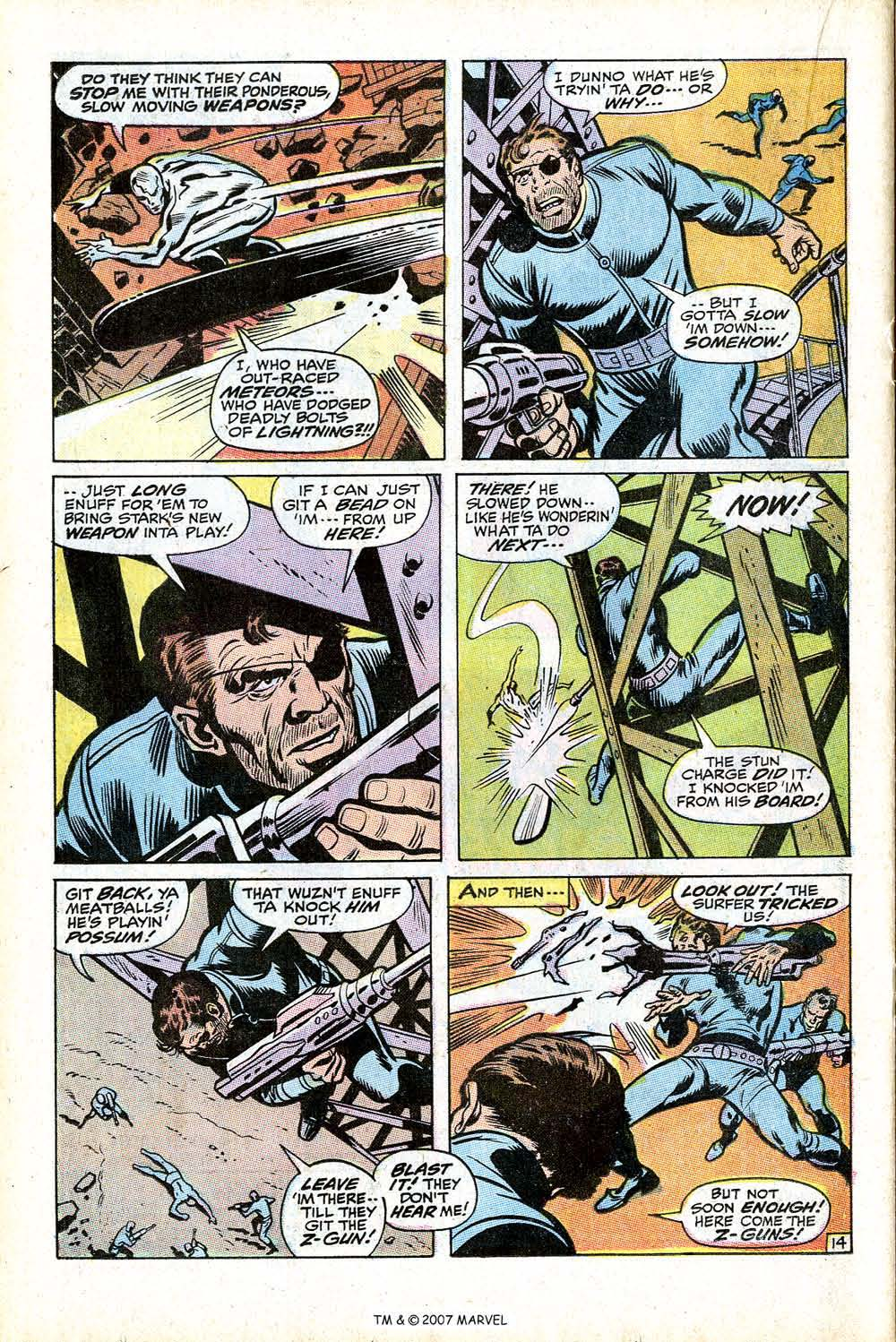 Read online Silver Surfer (1968) comic -  Issue #17 - 20