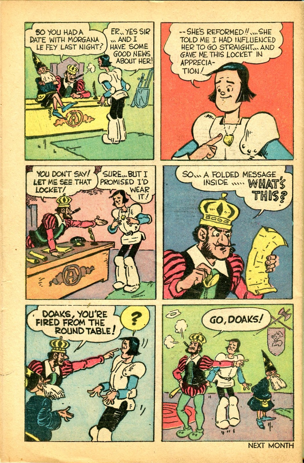 Read online Famous Funnies comic -  Issue #159 - 48