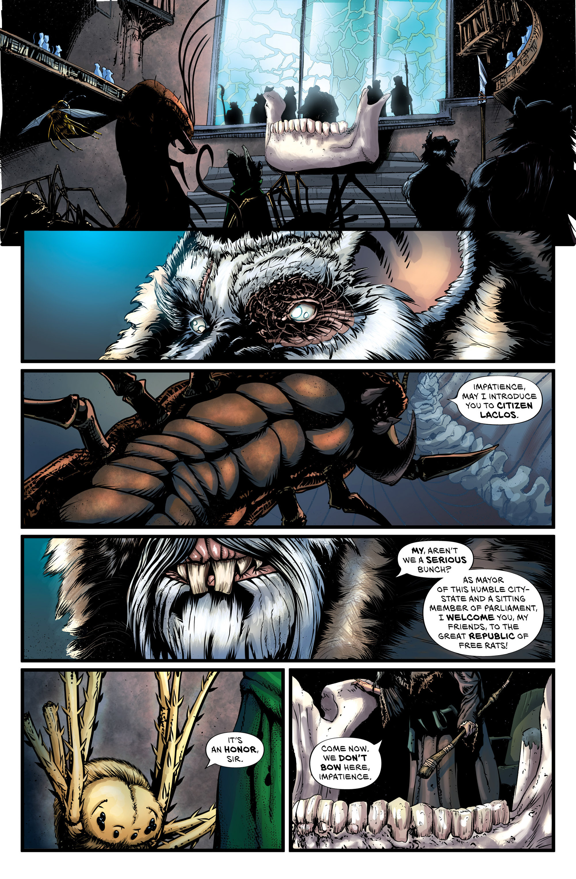 Read online Wretched Things comic -  Issue #3 - 10