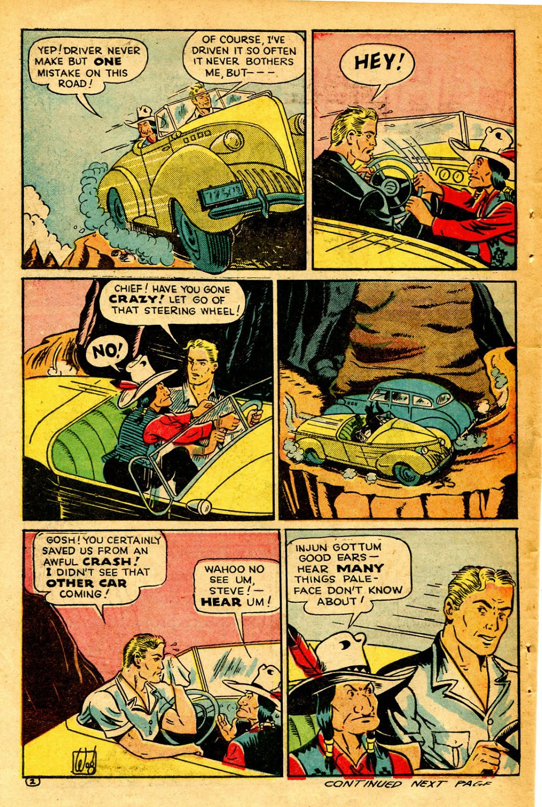 Read online Famous Funnies comic -  Issue #126 - 42