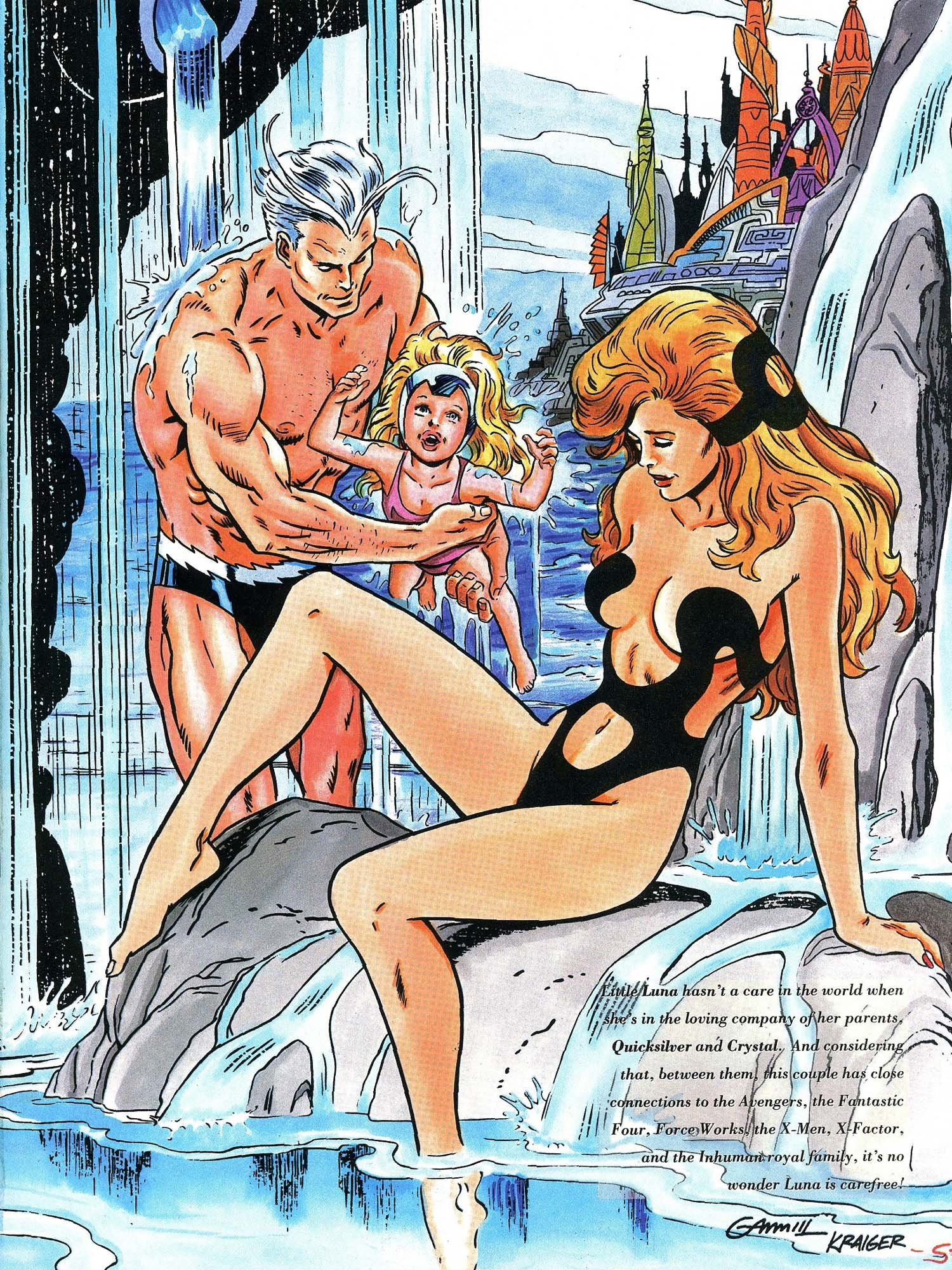Read online Marvel Swimsuit Special comic -  Issue #3 - 19