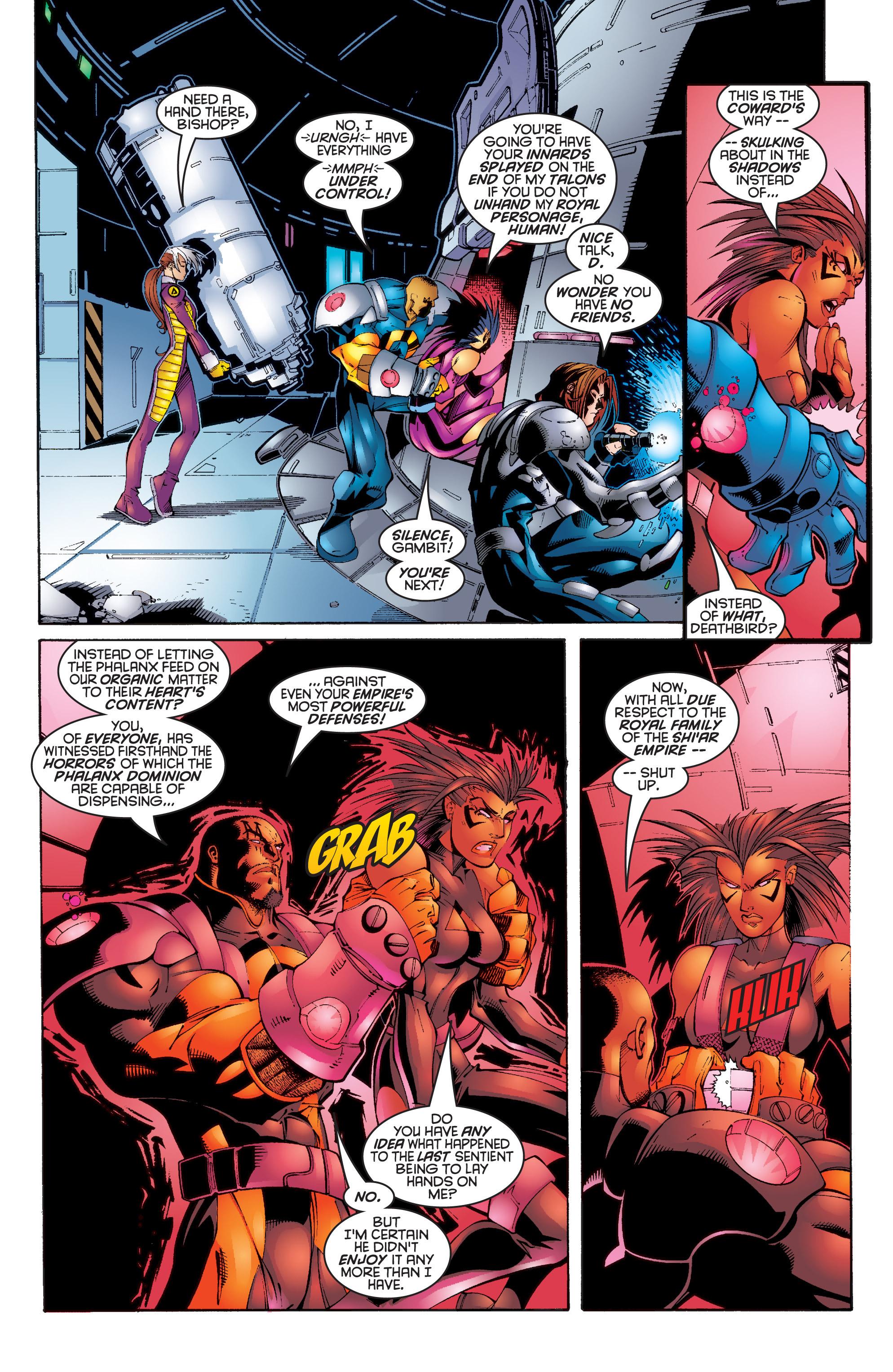 Read online Uncanny X-Men (1963) comic -  Issue #343 - 17
