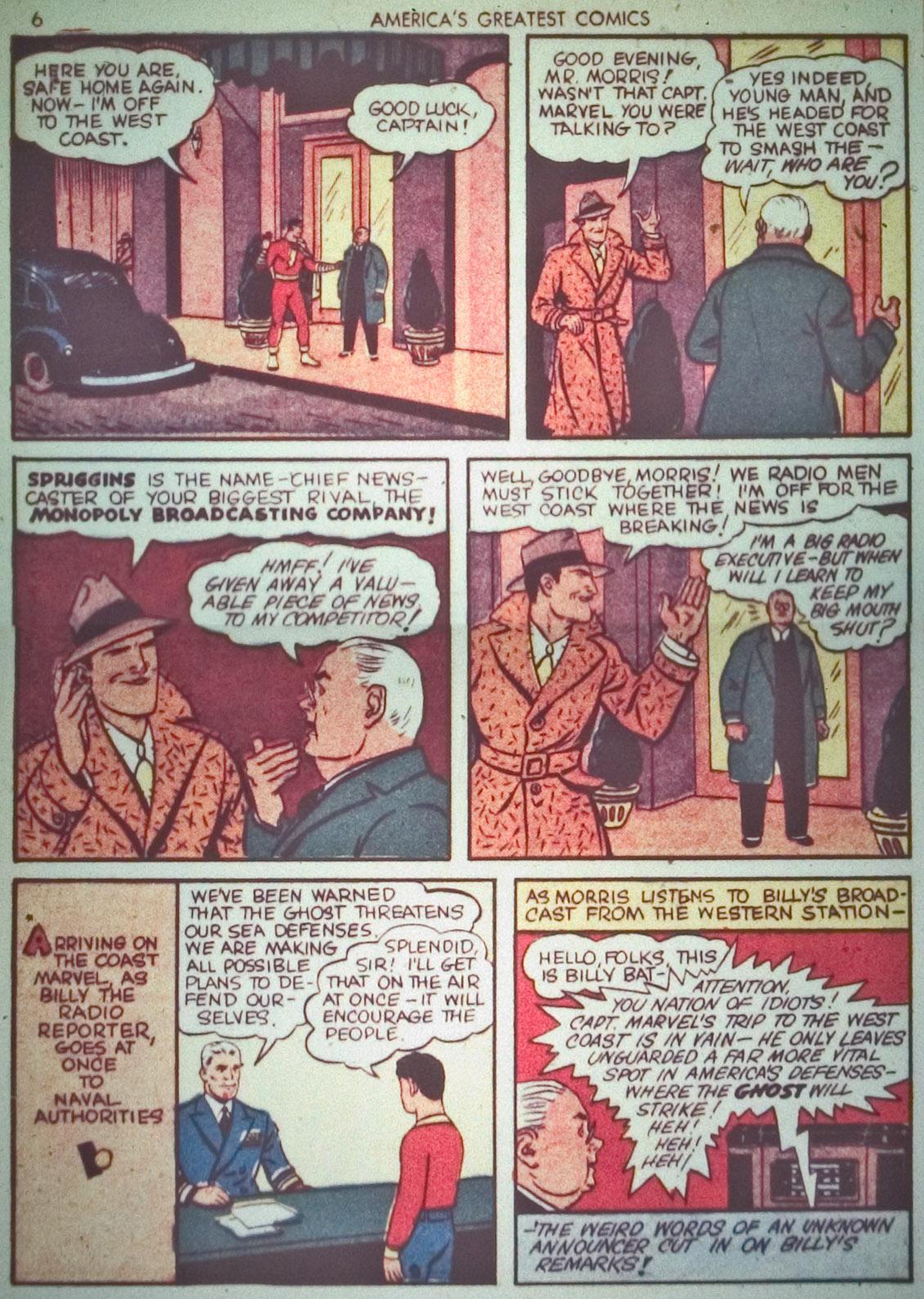 Read online America's Greatest Comics comic -  Issue #1 - 9
