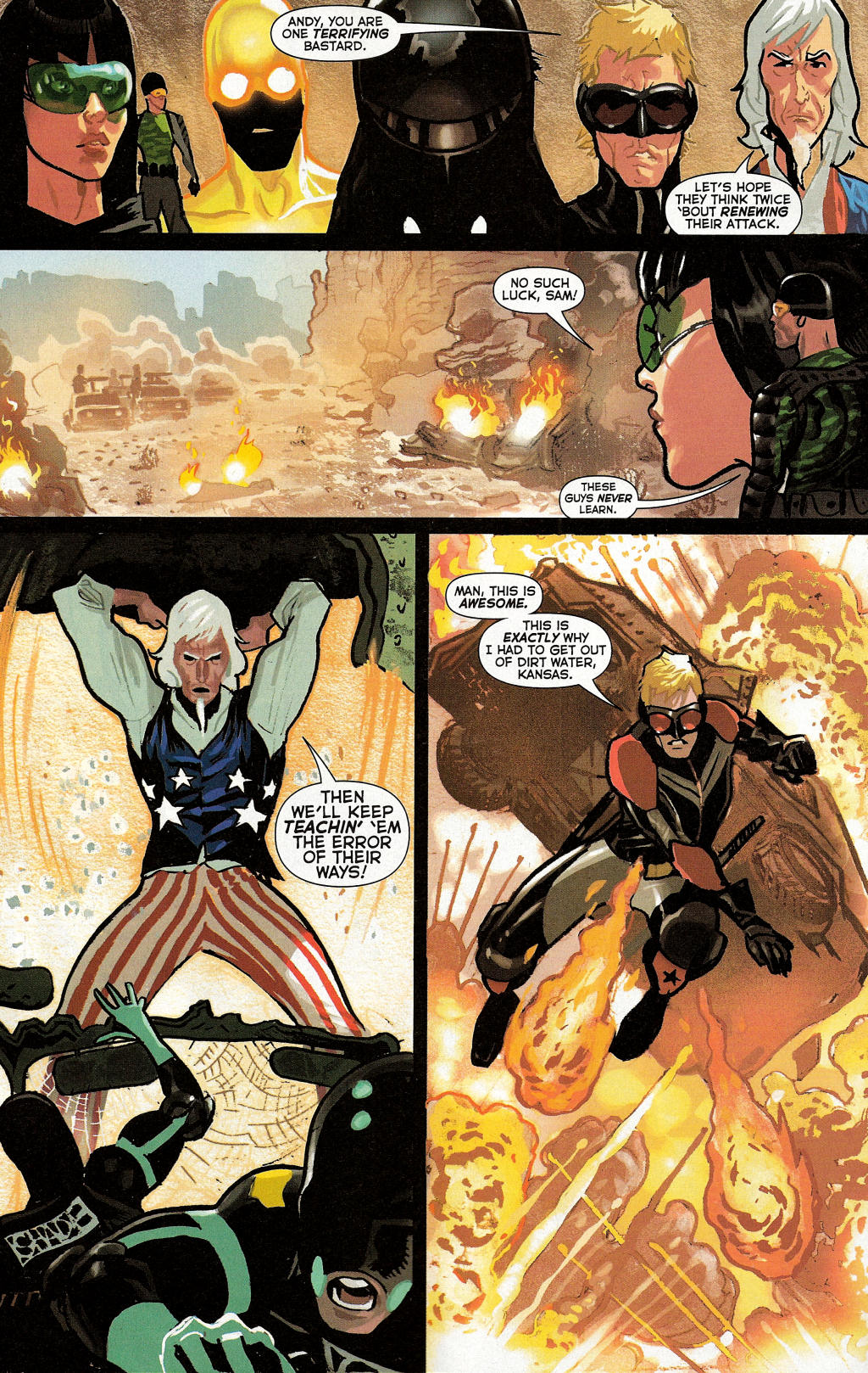 Read online Uncle Sam and the Freedom Fighters (2006) comic -  Issue #3 - 25