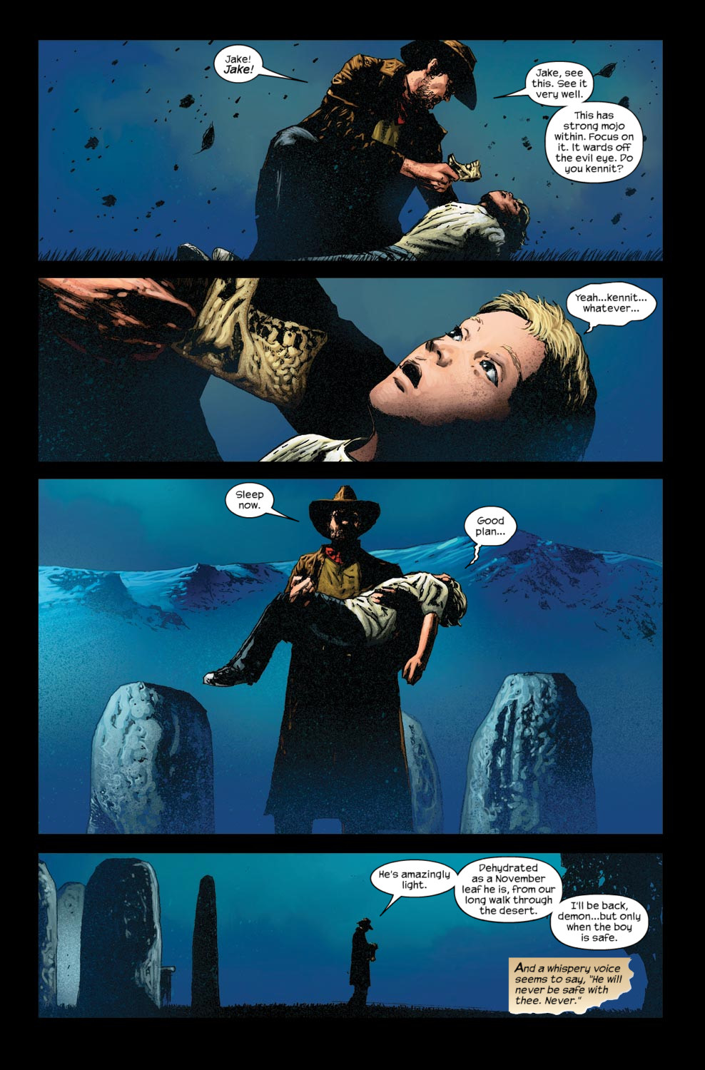 Read online Dark Tower: The Gunslinger - The Way Station comic -  Issue #5 - 6