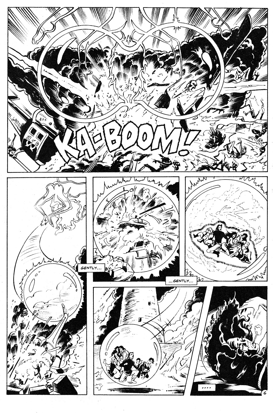 Ex-Mutants: The Shattered Earth Chronicles issue 9 - Page 8
