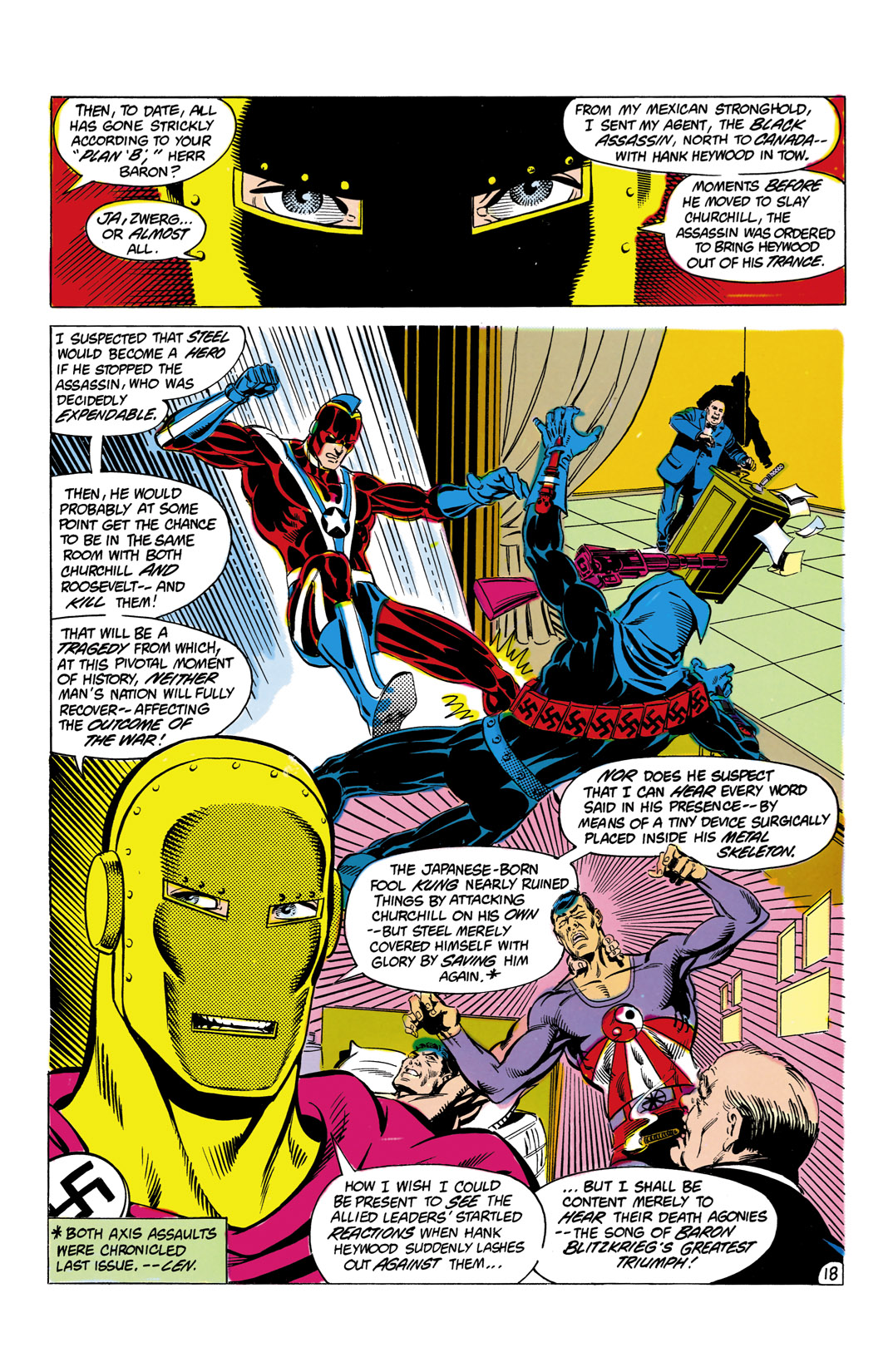 Read online All-Star Squadron comic -  Issue #9 - 19