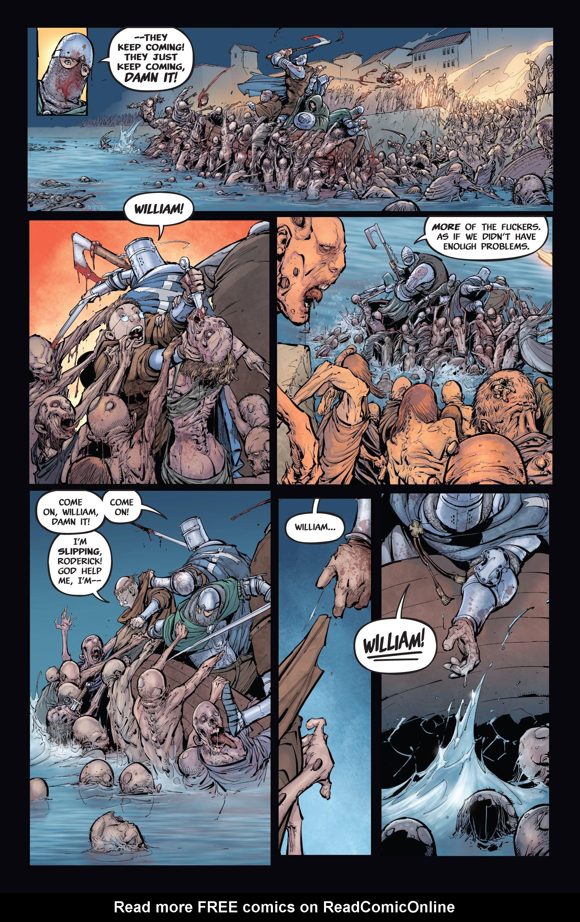 Read online Pestilence comic -  Issue #2 - 17