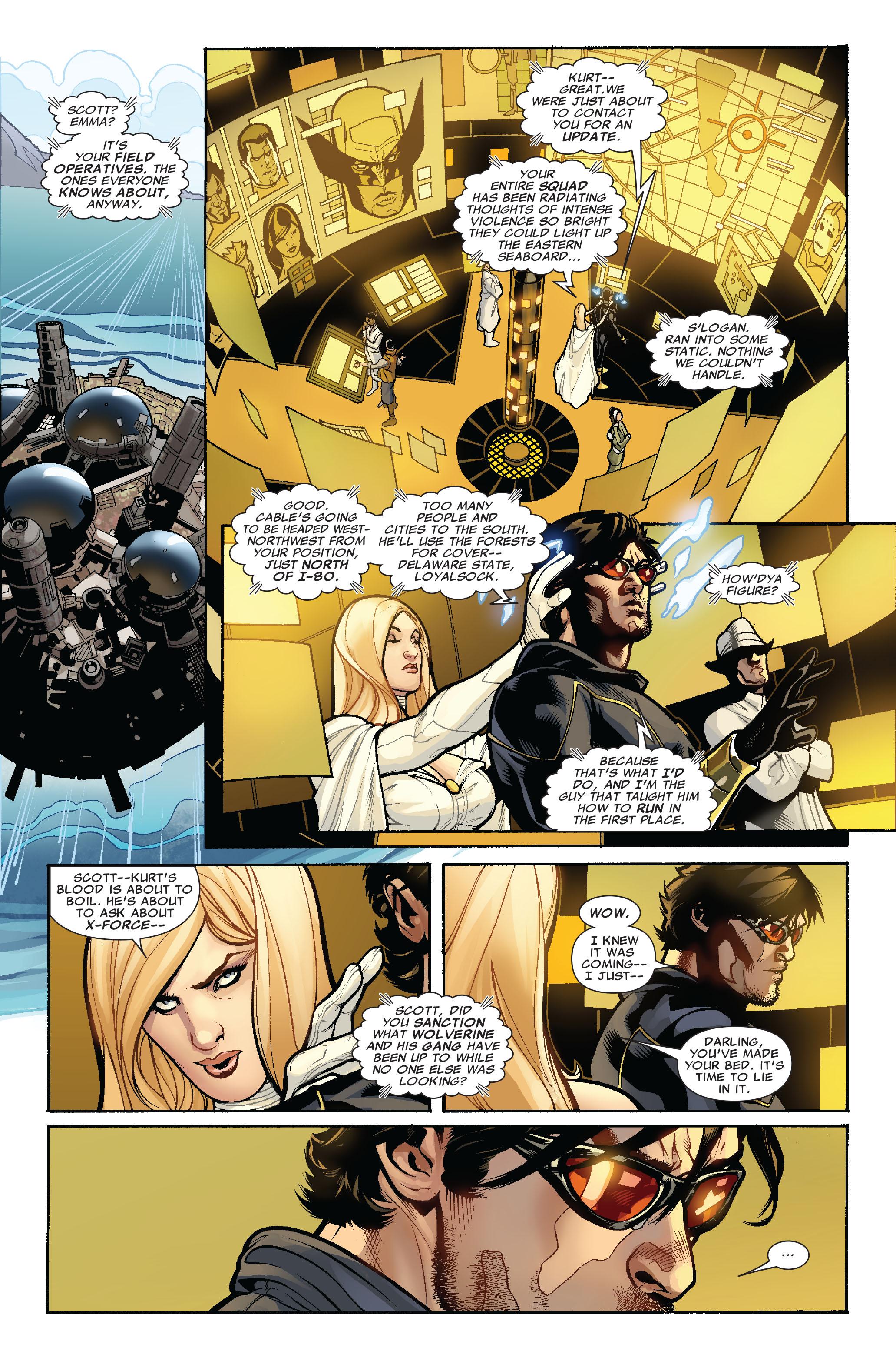 Read online Uncanny X-Men (1963) comic -  Issue #523 - 8