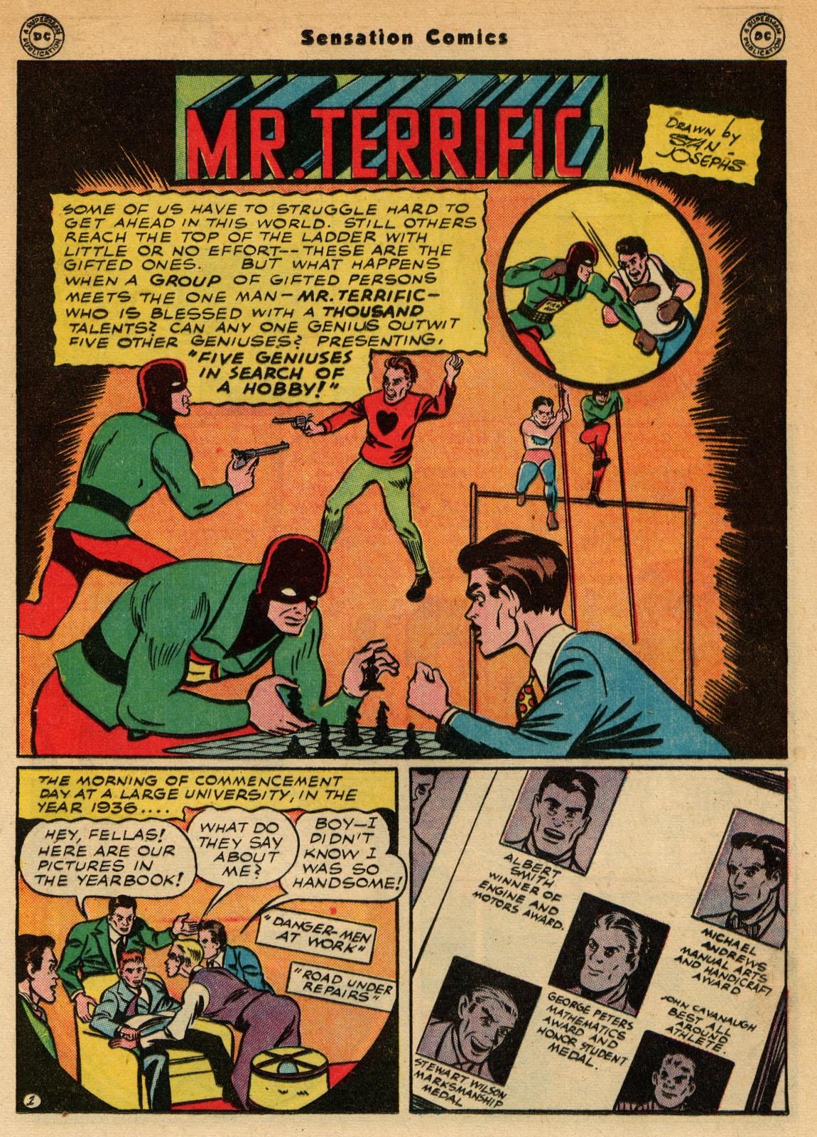 Read online Sensation (Mystery) Comics comic -  Issue #51 - 25