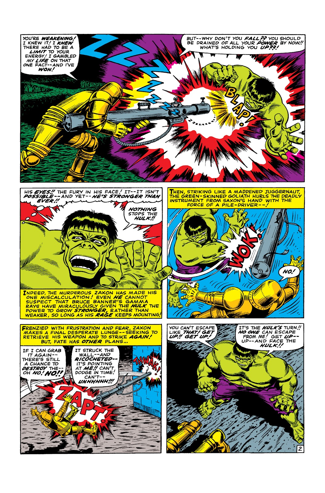 Read online Marvel Masterworks: The Incredible Hulk comic -  Issue # TPB 2 (Part 3) - 35