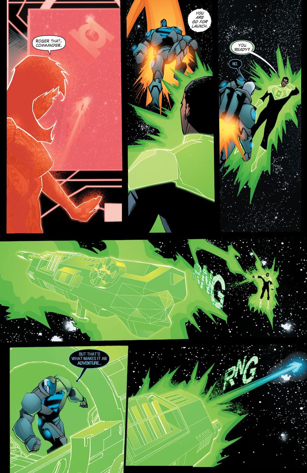 Read online Smallville Season 11 [II] comic -  Issue # TPB 8 - 166