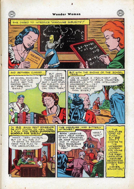 Read online Wonder Woman (1942) comic -  Issue #17 - 21