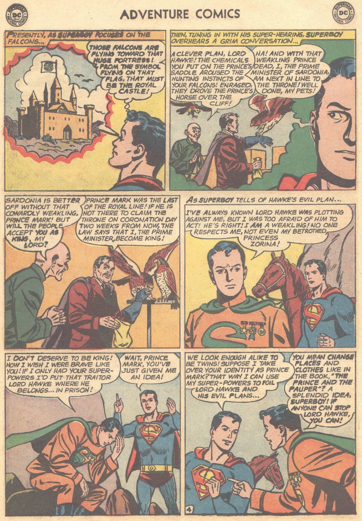 Read online Adventure Comics (1938) comic -  Issue #303 - 6