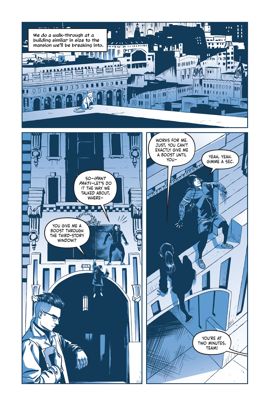 Read online Under the Moon: A Catwoman Tale comic -  Issue # TPB (Part 2) - 29
