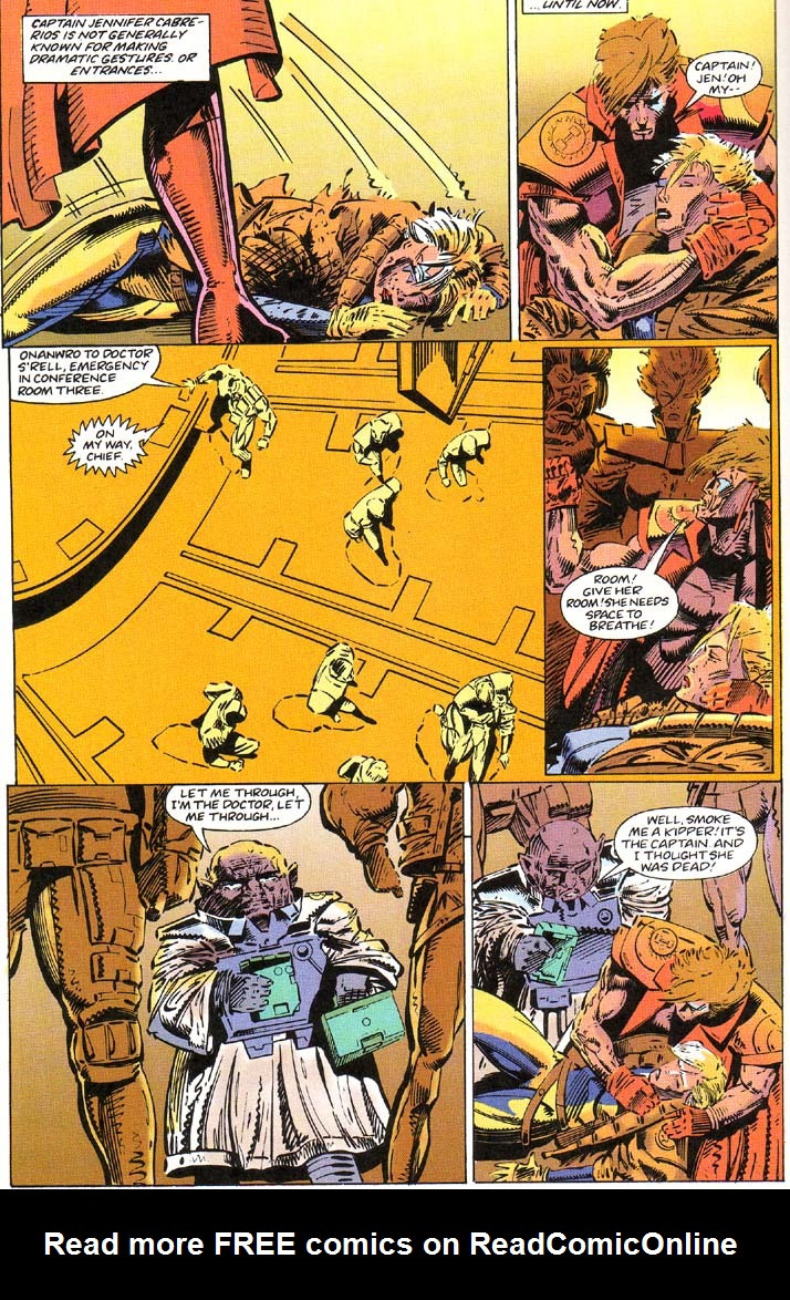 Read online Cyberspace 3000 comic -  Issue #1 - 10