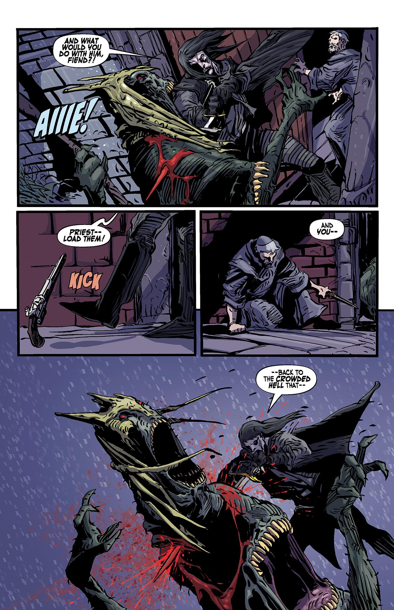 Read online Solomon Kane: Death's Black Riders comic -  Issue #4 - 7
