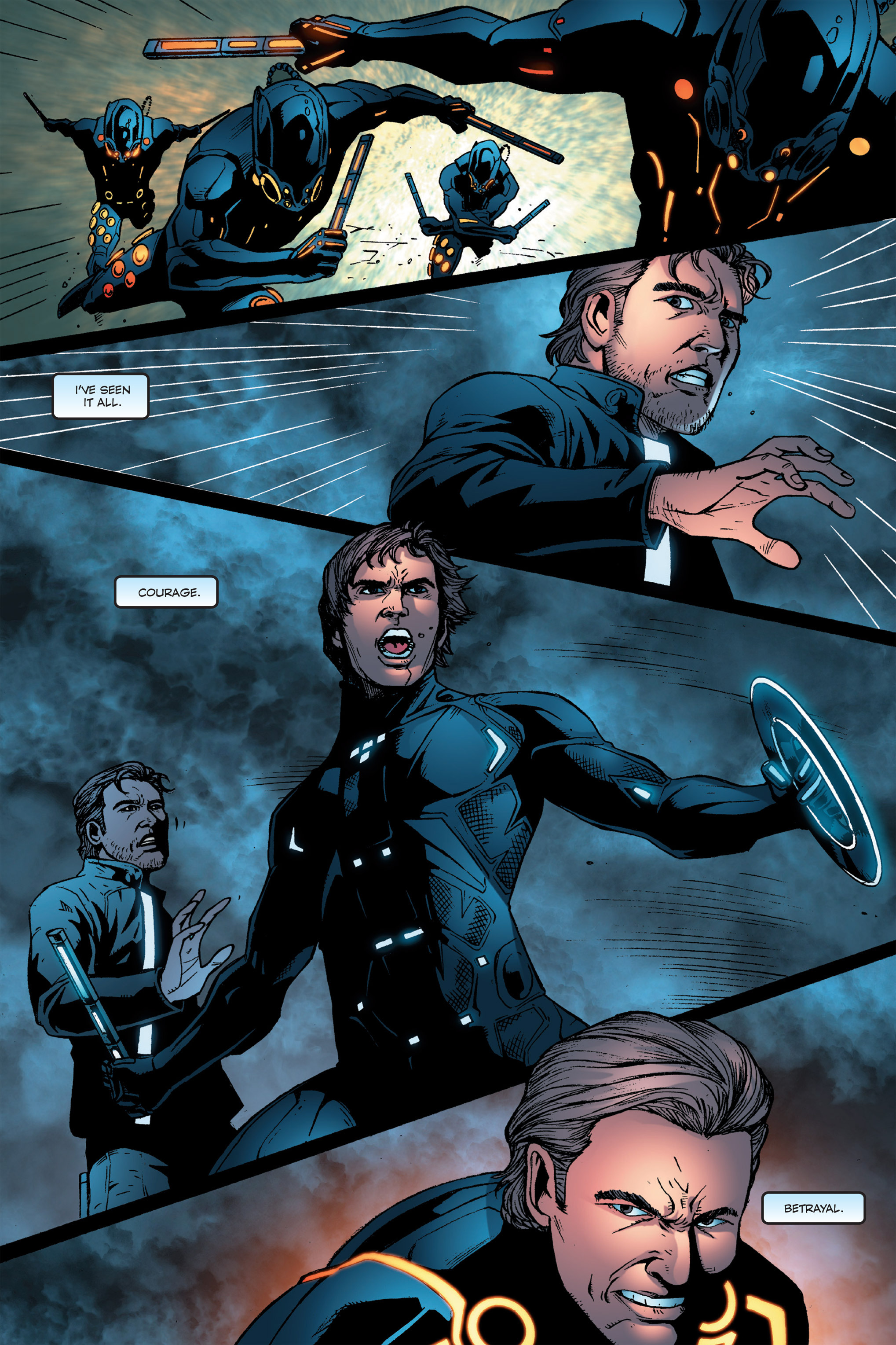 Read online TRON: Betrayal comic -  Issue # TPB - 110