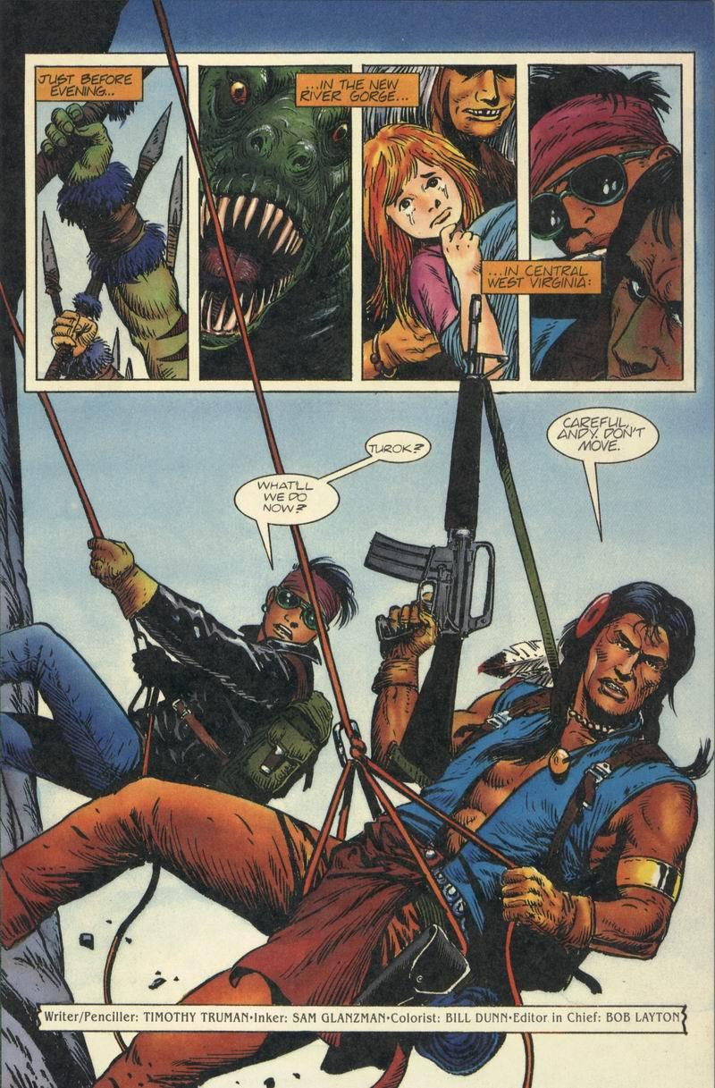 Read online Turok, Dinosaur Hunter (1993) comic -  Issue #8 - 2