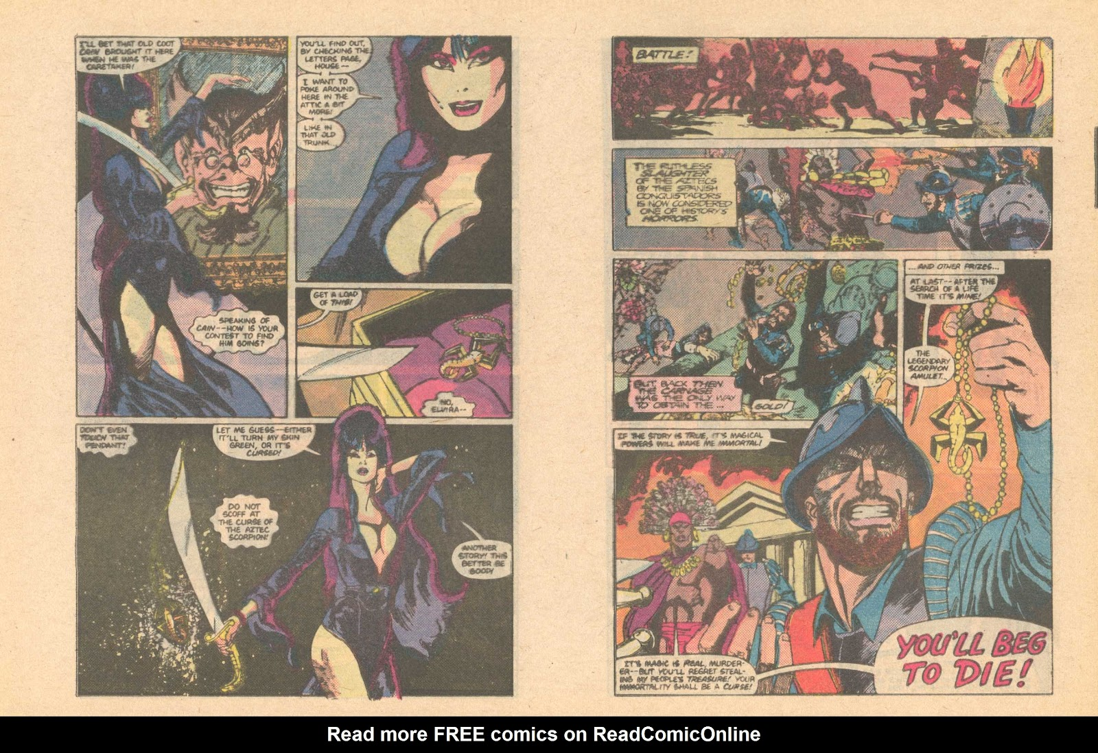 Elvira's House of Mystery Issue #6 #7 - English 20