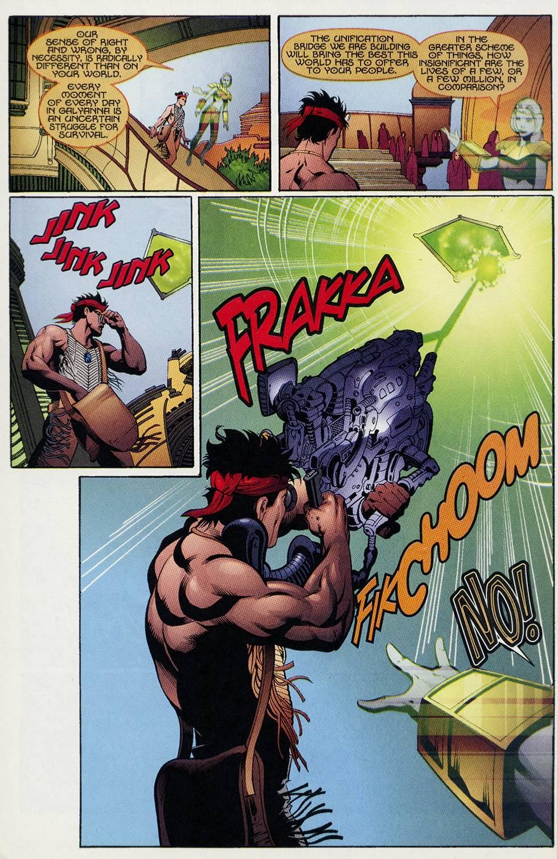 Read online Turok comic -  Issue #4 - 19