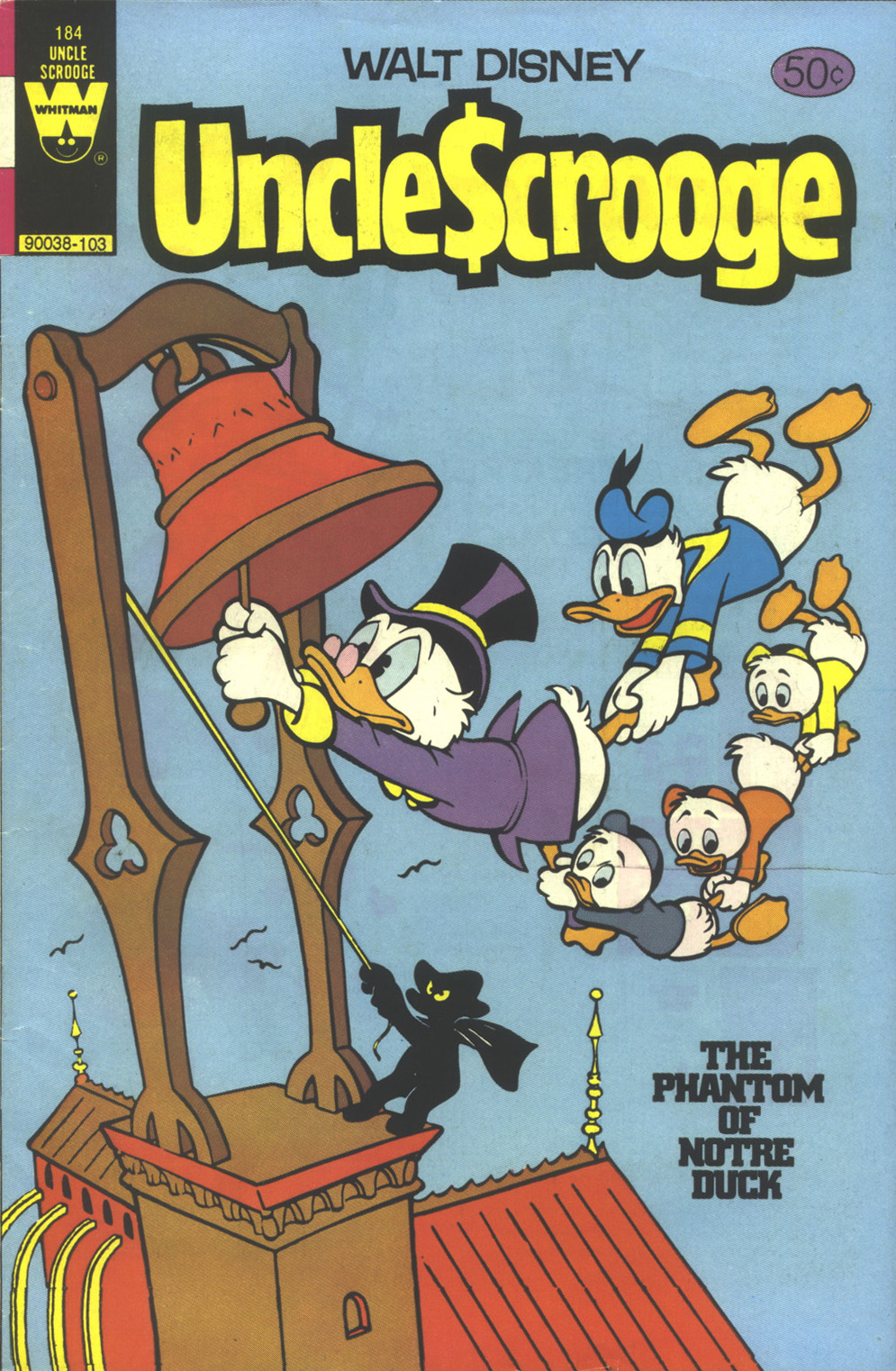 Read online Uncle Scrooge (1953) comic -  Issue #184 - 1