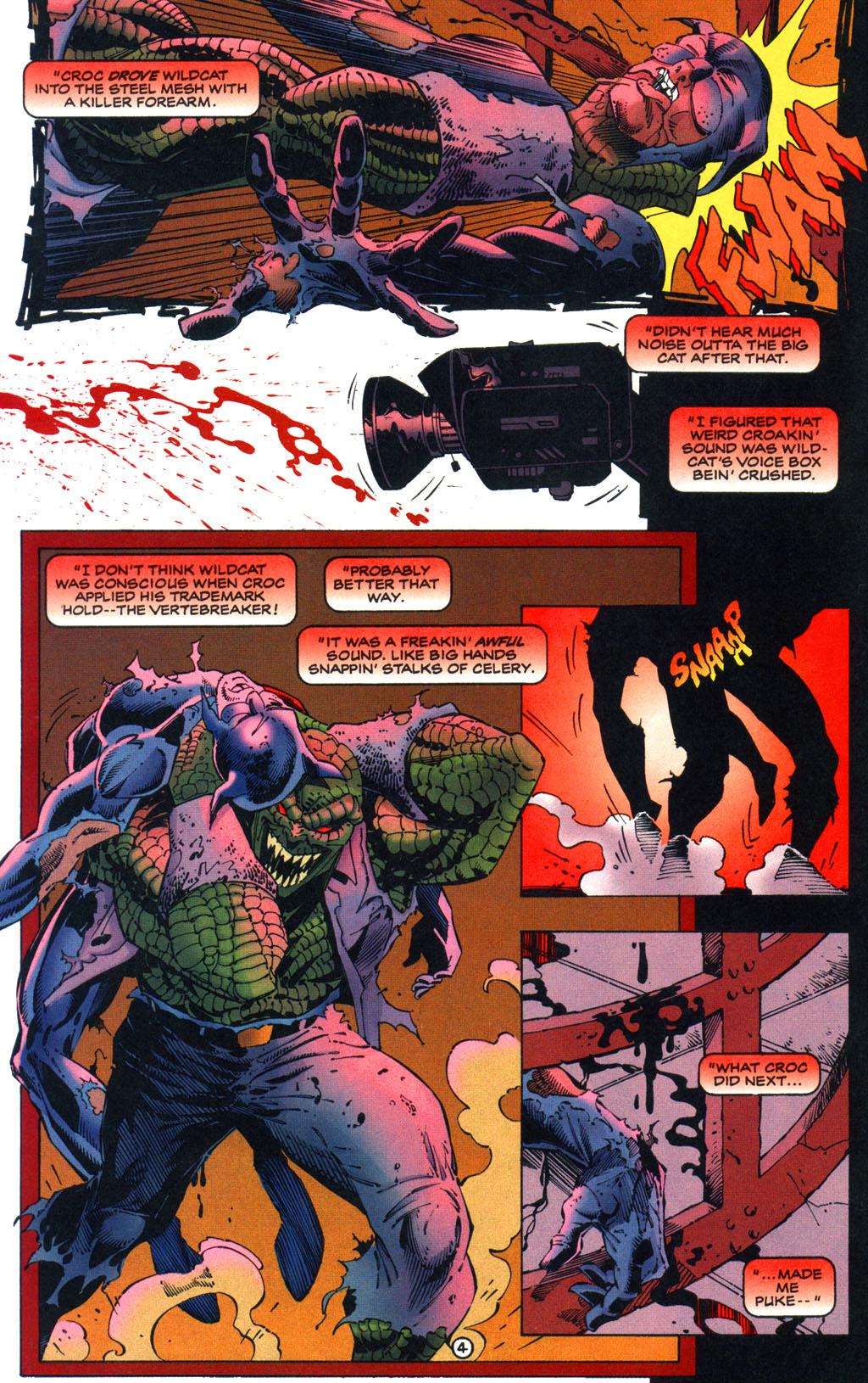 Read online Batman/Wildcat comic -  Issue #1 - 4