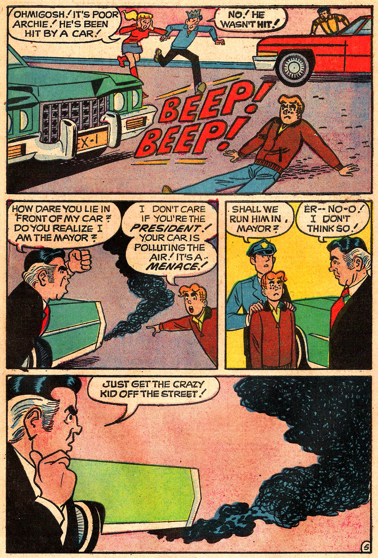 Read online Archie (1960) comic -  Issue #225 - 7