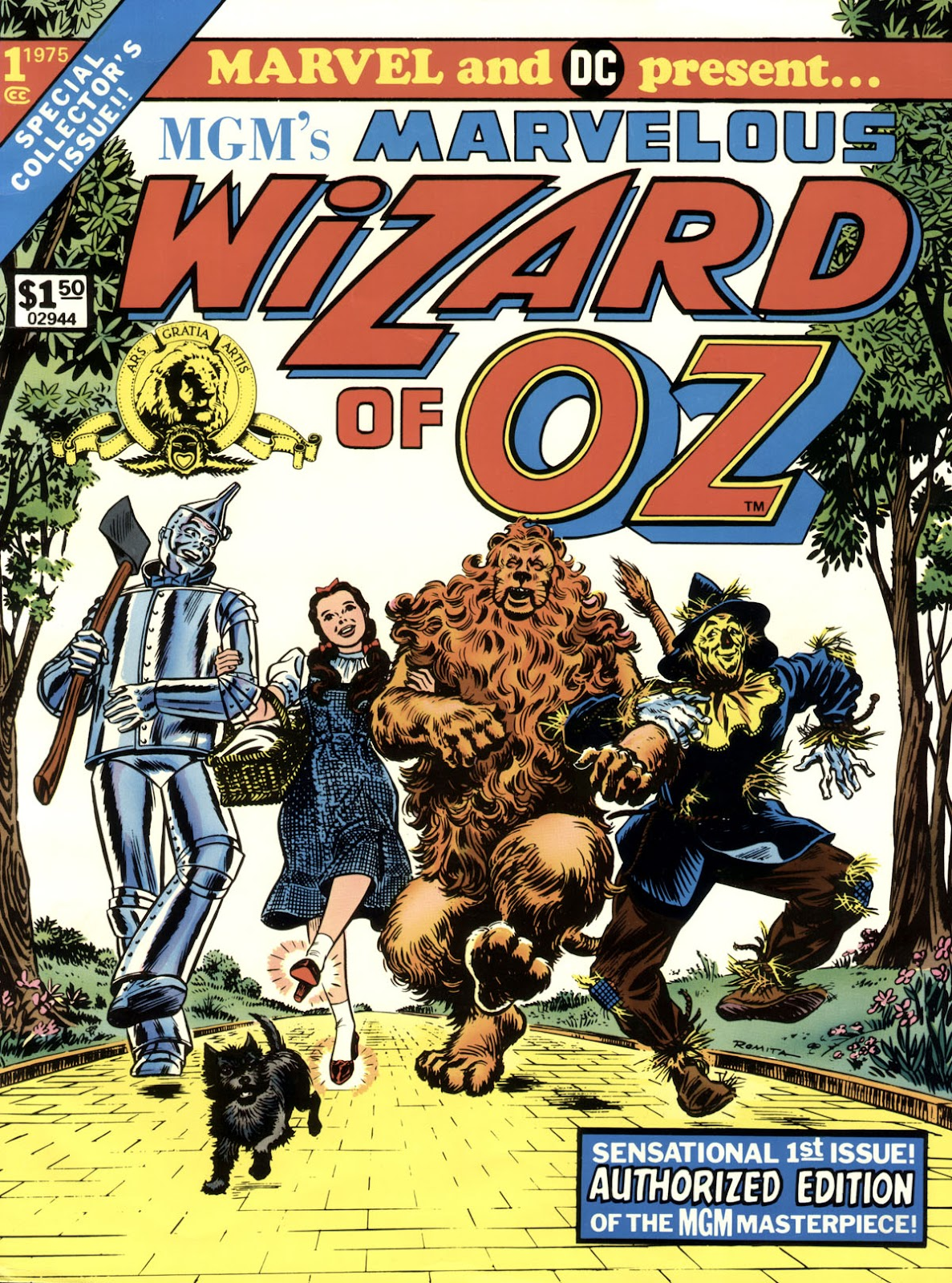 Marvelous Wizard of Oz issue TPB - Page 1