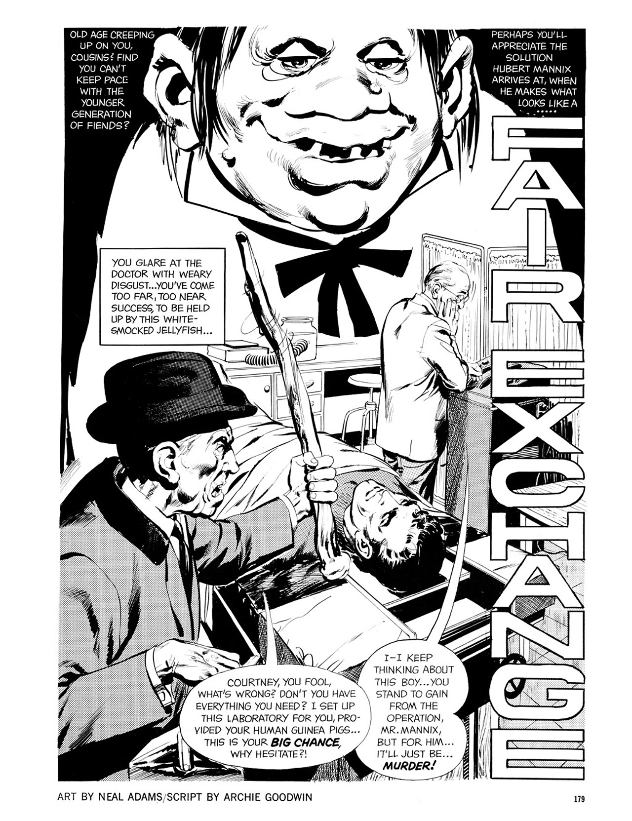 Read online Eerie Archives comic -  Issue # TPB 2 - 180