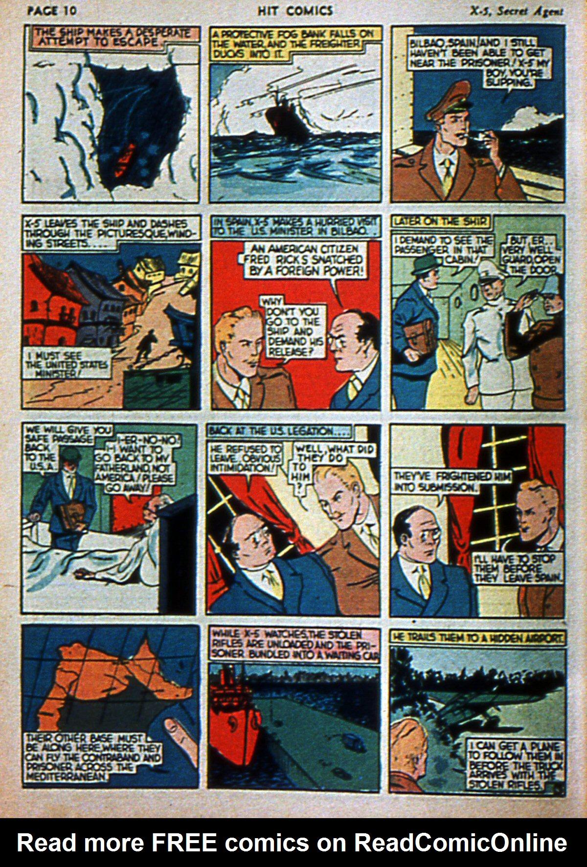 Read online Hit Comics comic -  Issue #3 - 12