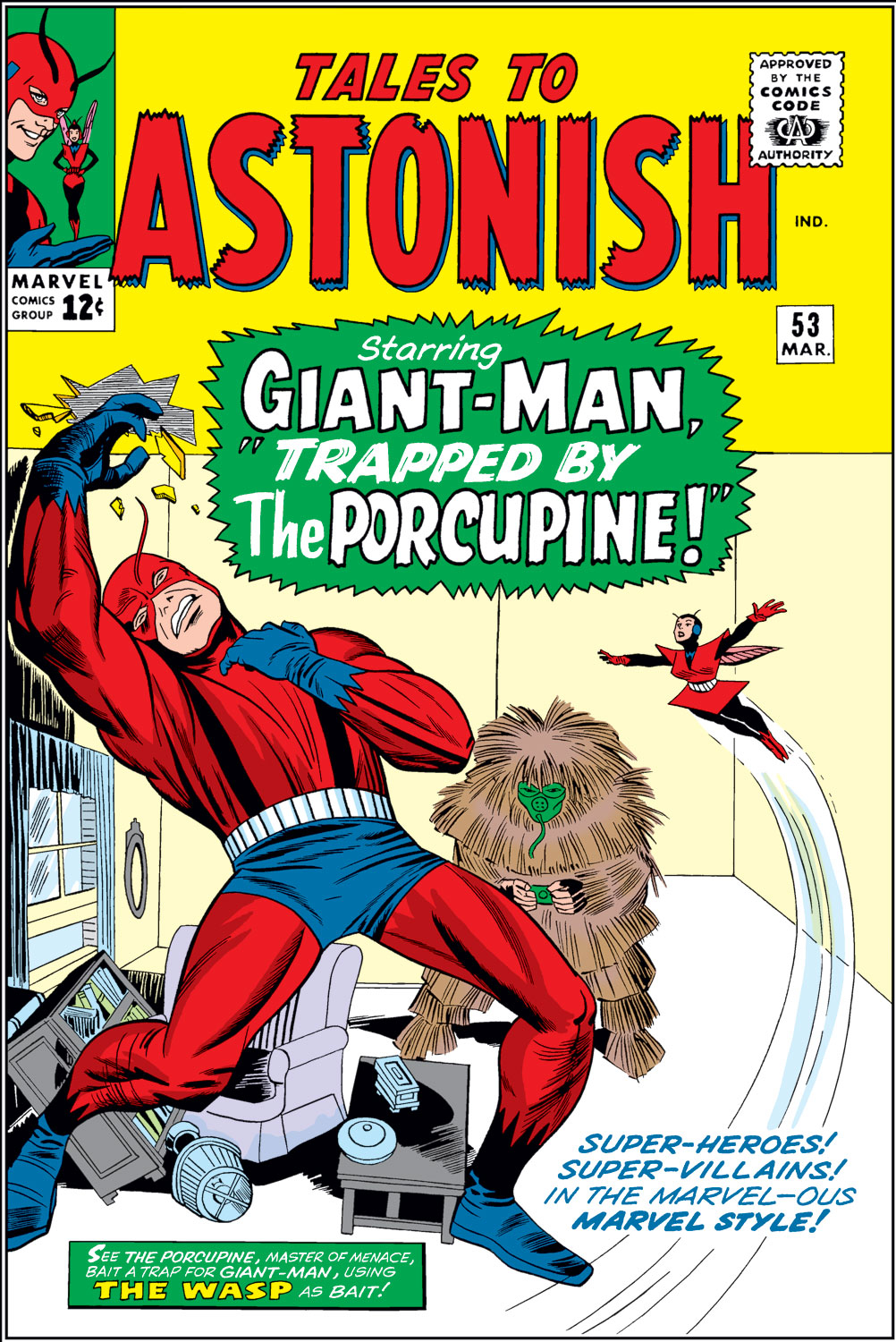 Tales to Astonish (1959) issue 53 - Page 1