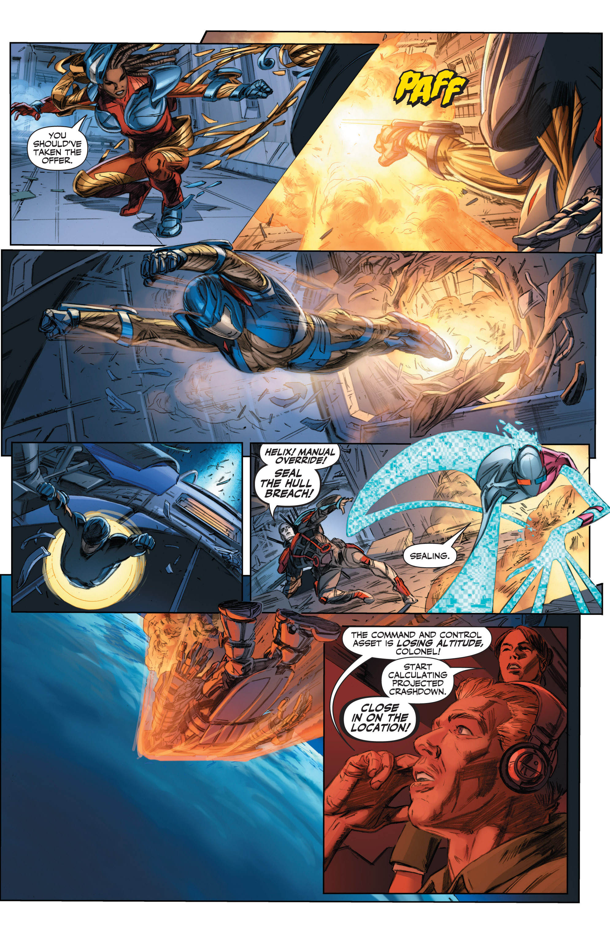Read online Armor Hunters comic -  Issue #3 - 16