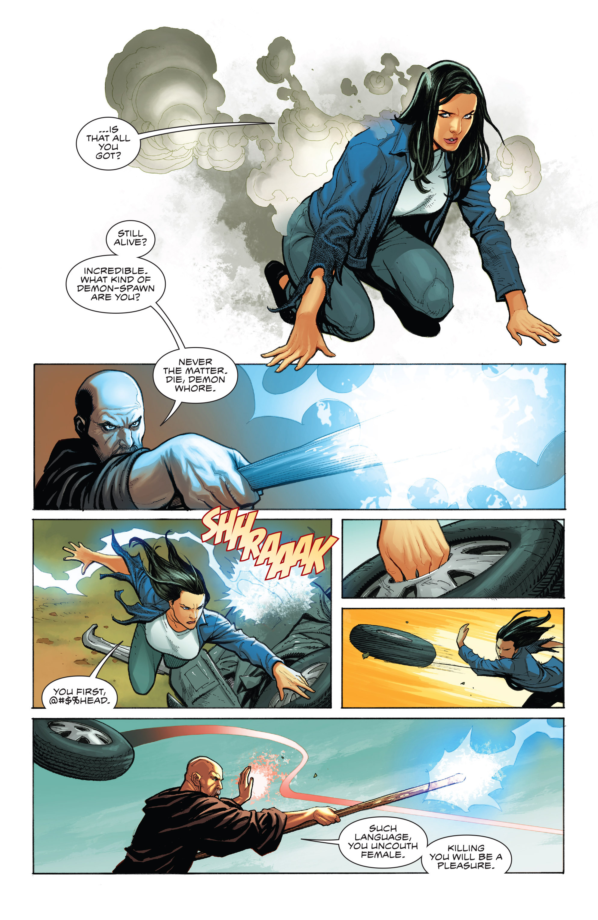 Read online Skybourne comic -  Issue #1 - 25