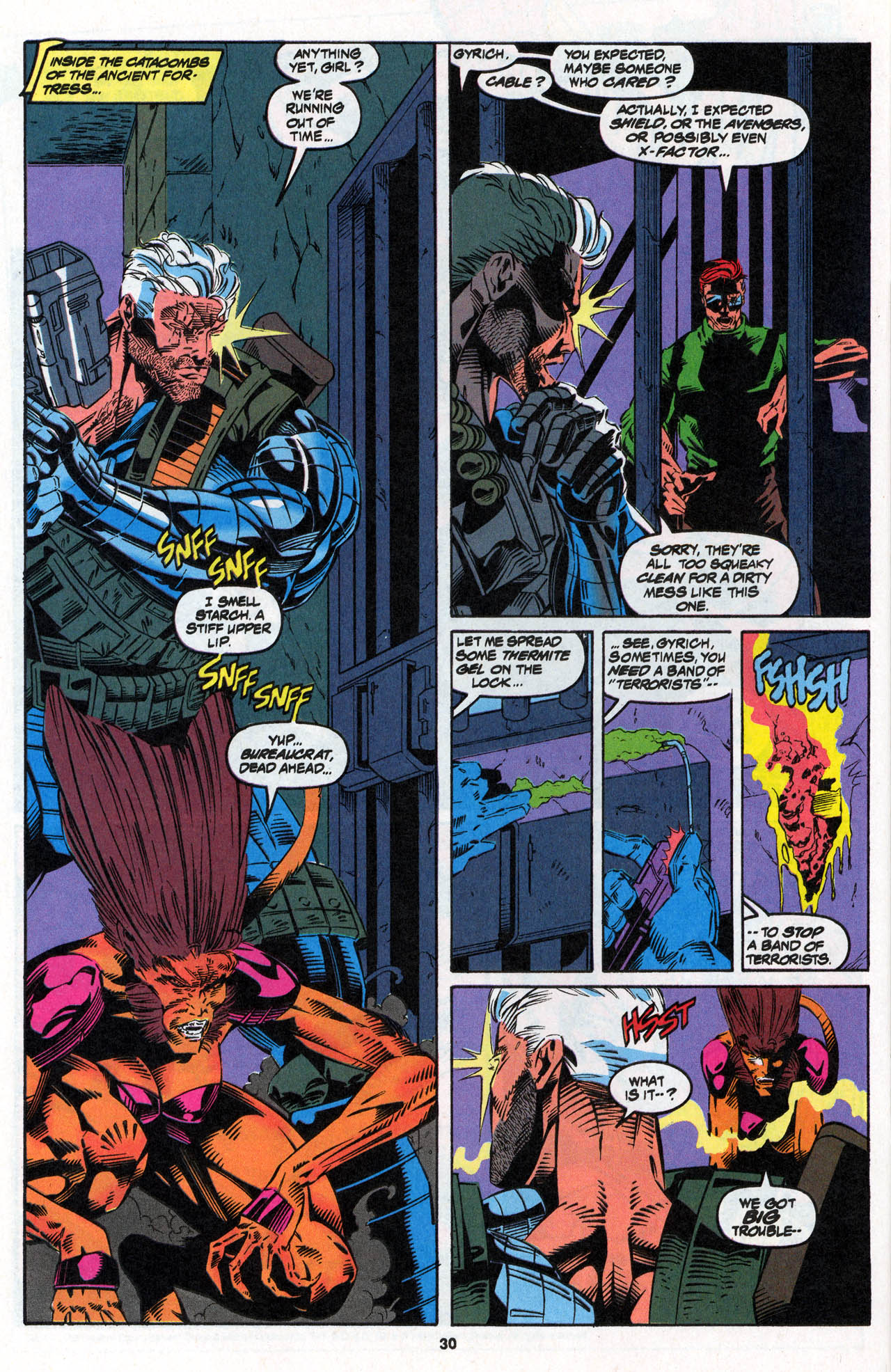 Read online X-Force (1991) comic -  Issue #27 - 30
