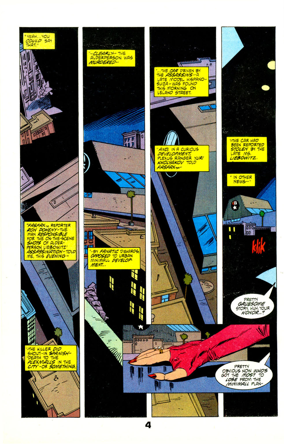 Read online American Flagg! comic -  Issue #29 - 6