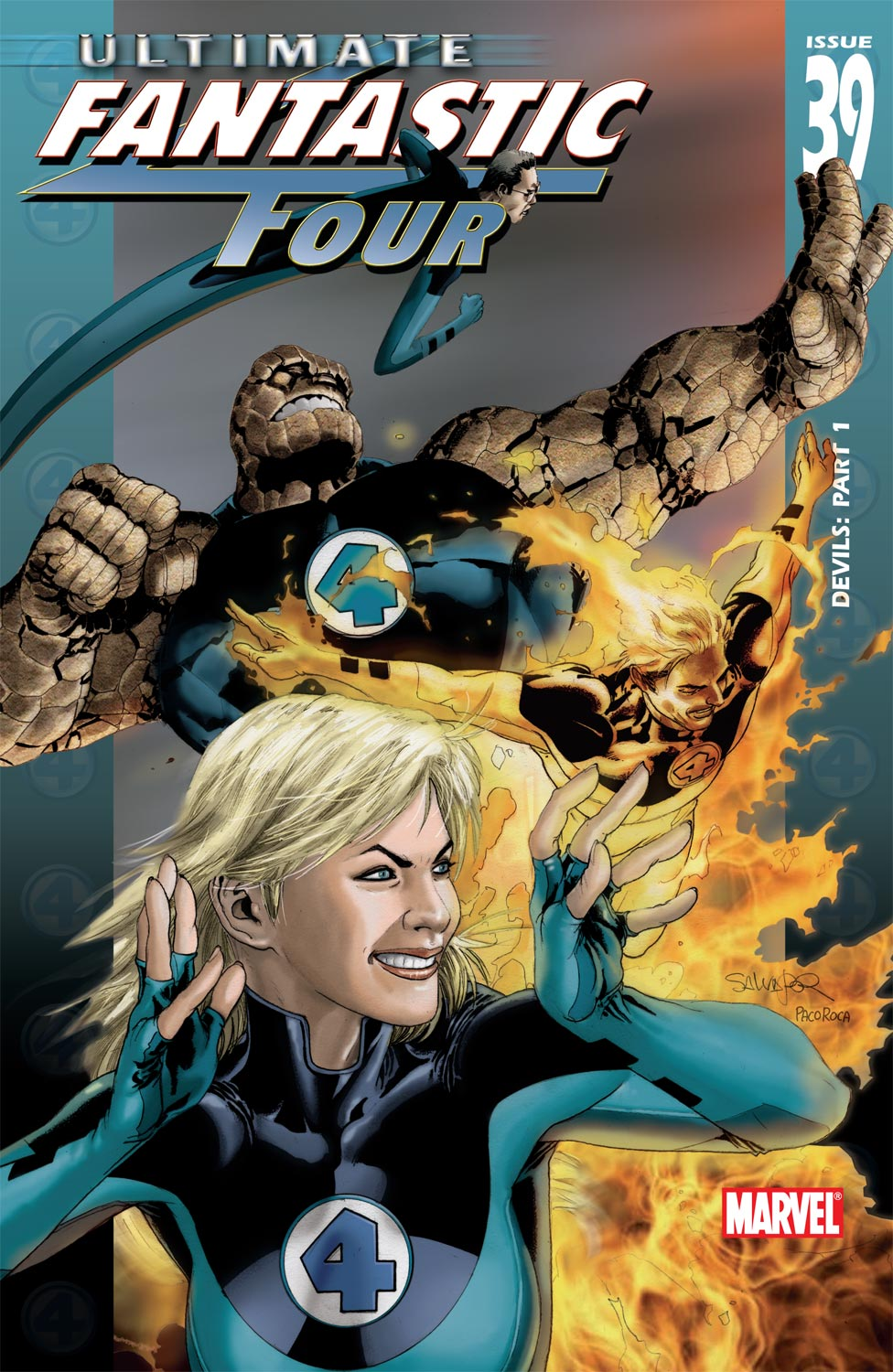 Read online Ultimate Fantastic Four (2004) comic -  Issue #39 - 1