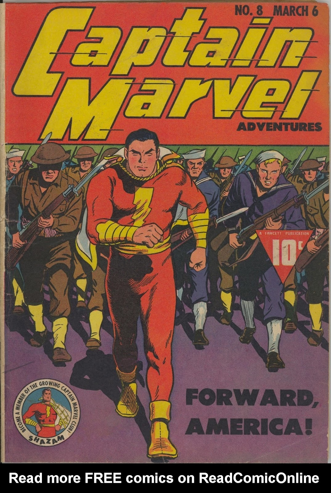 Captain Marvel Adventures issue 8 - Page 1